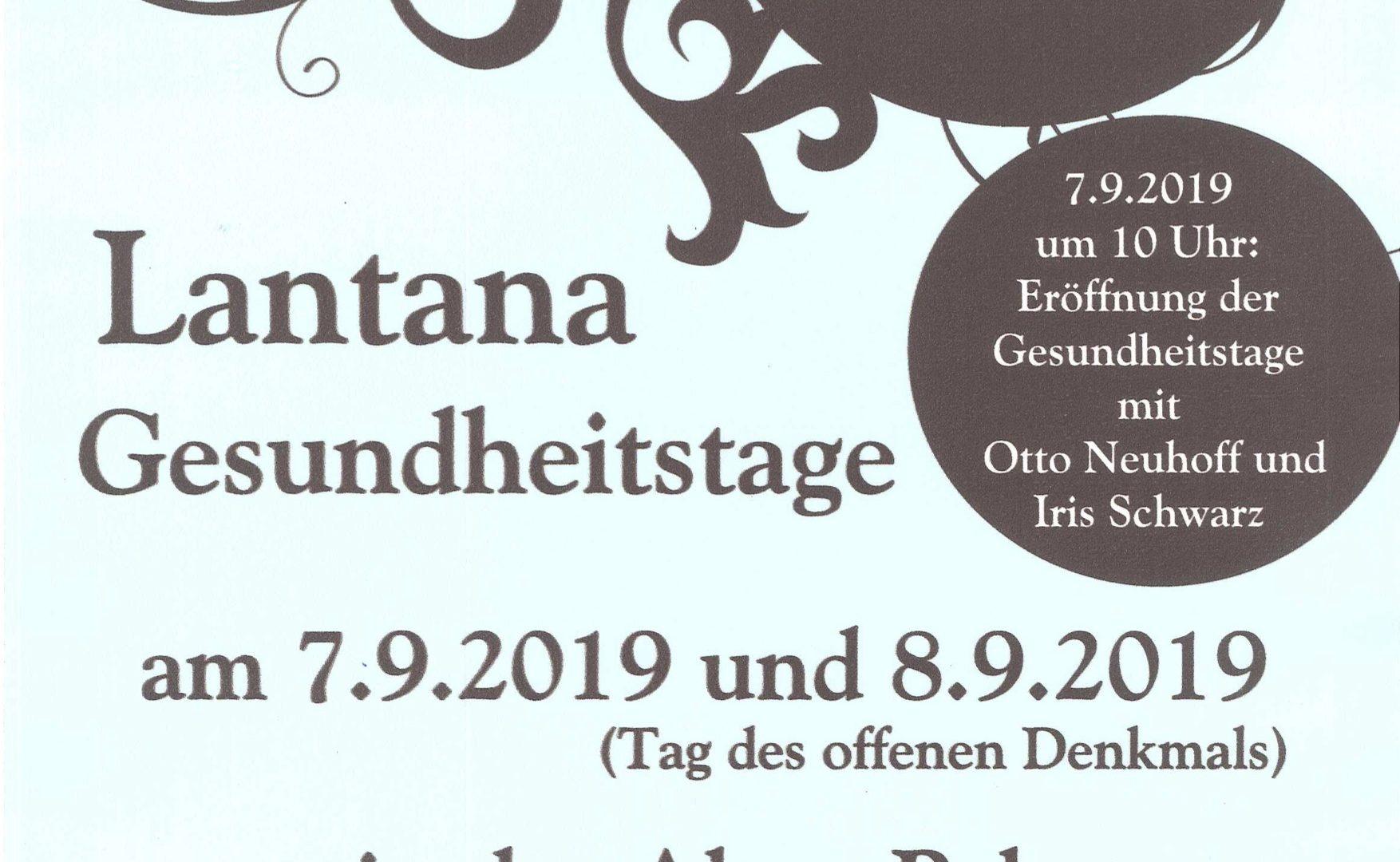 Unser Vortrags- und Workshopprogramm am Samstag, den 7.9.2019