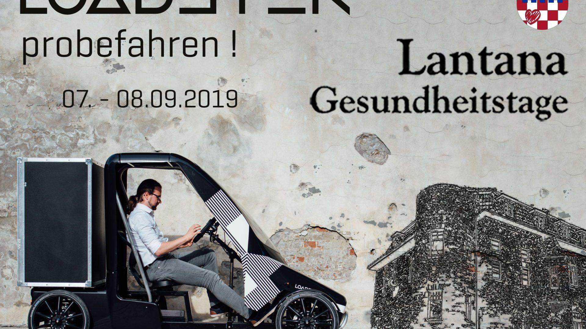 Unsere Gesundheitstage Lantana am 7. und 8.9.2019: Jonas Kremer
